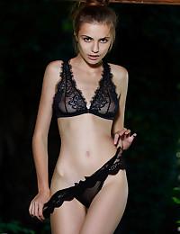 Elle Tan nude in erotic OUTDOOR LACE gallery - MetArt.com