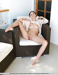 Sade Mare bare in erotic PATIO WEATHER gallery - MetArt.com