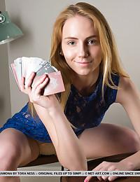 Ramona nude in glamour ALNERO gallery - MetArt.com